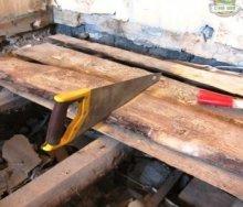 Ремонт деревянного пола: проведение диагностики и восстановительные работы своими руками
