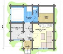 Планировка бани – правила проектирования + примеры одно и двухэтажных вариантов