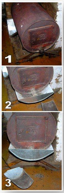 Печь для гаража из трубы 500 мм своими руками 28