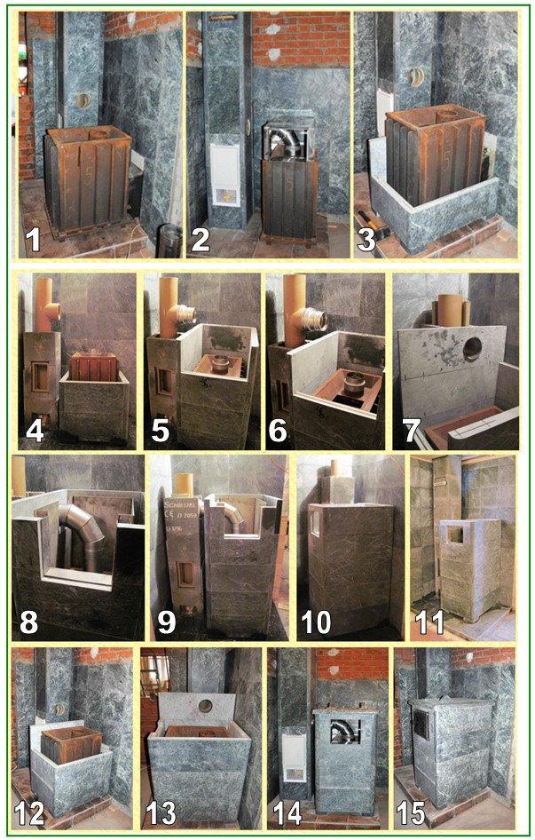Как сделать метал печь для бани 316