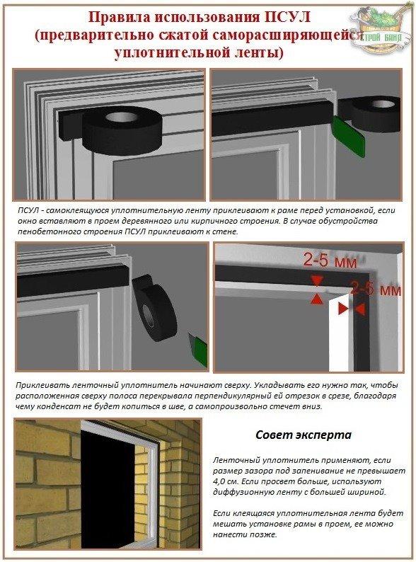 Инструкция по установке пластиковых окон своими руками