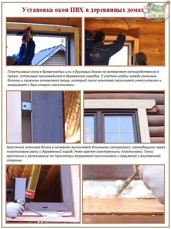 Как правильно вставить пластиковые окна