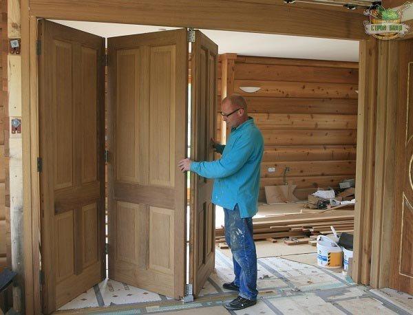 Двери в дом своими руками 62