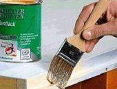 Как производится покраска деревянных дверей