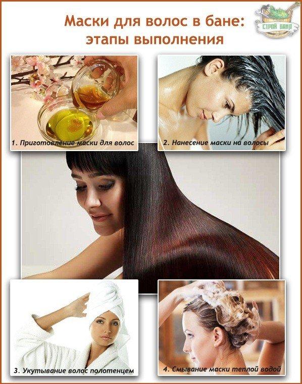 Как сделать маску для волос из масла репейного масла и
