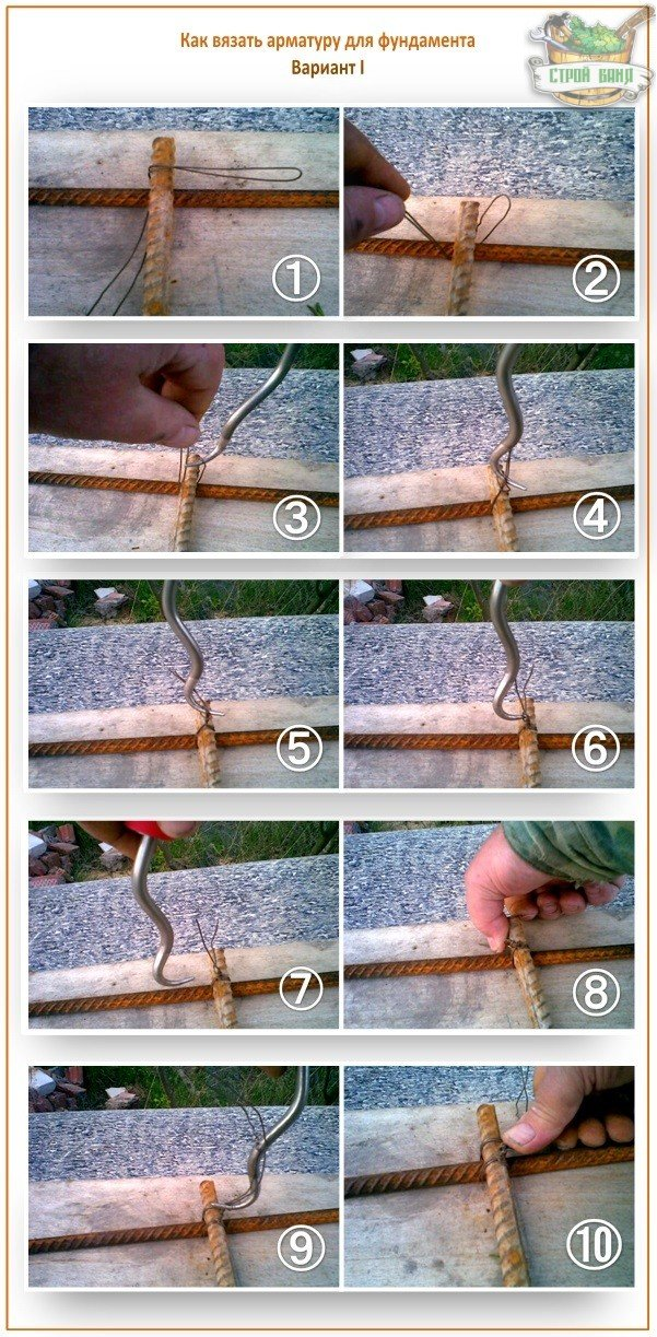 Как сделать крючок для вязки арматуры своими руками 7