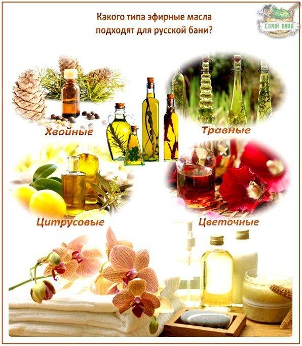 Какое купить масло для бани