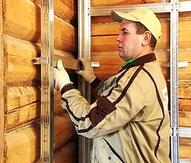 Деревянный дом обшить гипсокартоном как это сделать