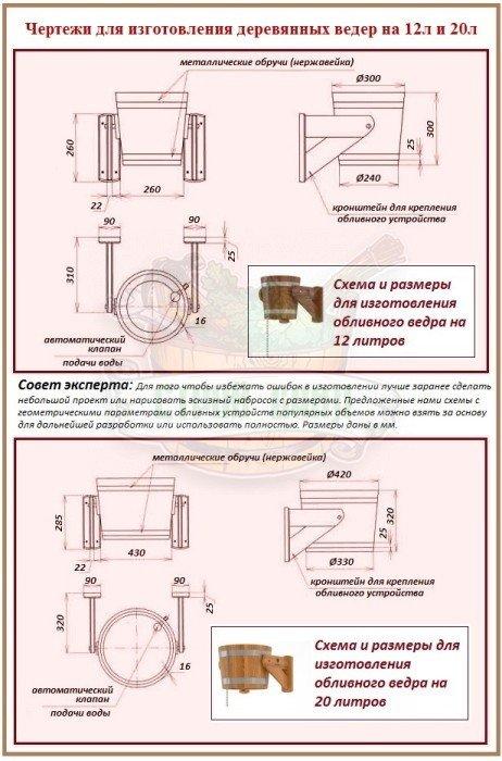 Как самому сделать обливное устройство для бани