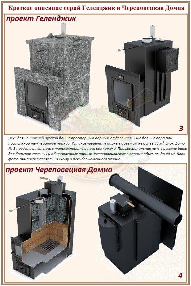 Какую печь для русской бани лучше выбрать