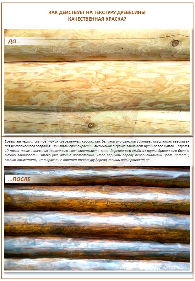 Чем покрасить сруб бани снаружи: обзор современных материалов