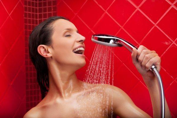 Контрастный душ для женщин