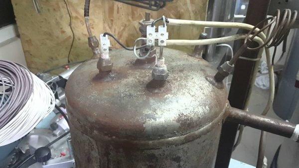 Парогенератор из газового баллона