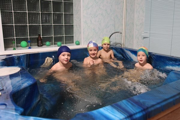 Гидромассаж детям