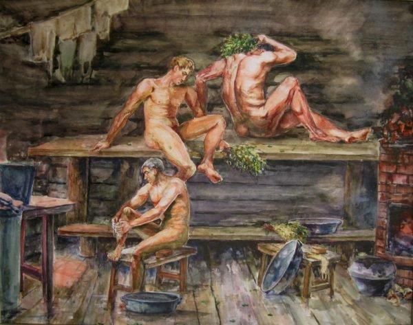 Первые бани на Руси