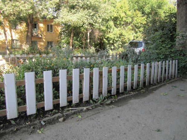 забор из вагонки