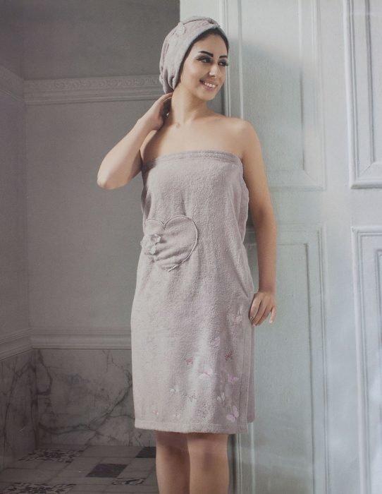 Женская банная одежда