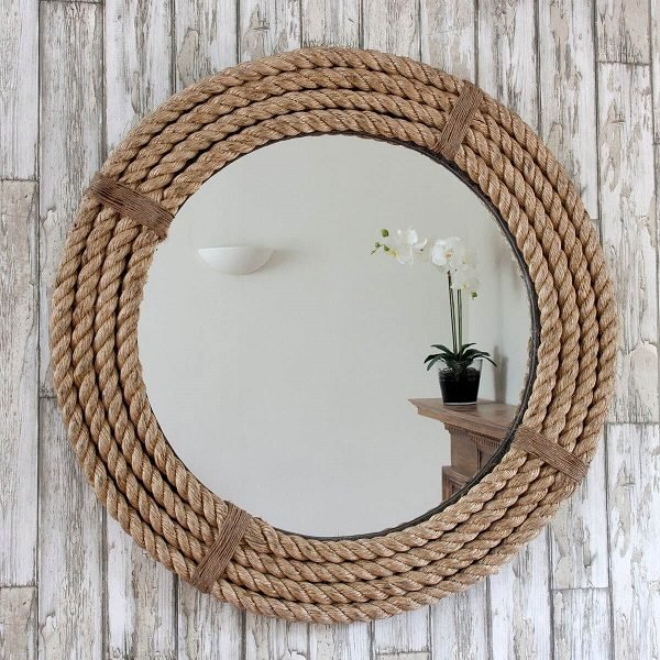 Зеркало из жгута