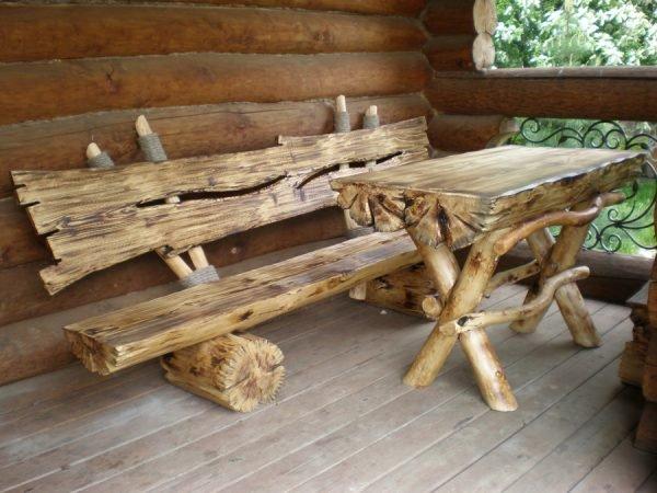 стол в баню своими руками из дерева