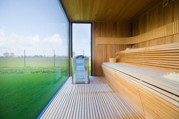 панорамные окна для бани
