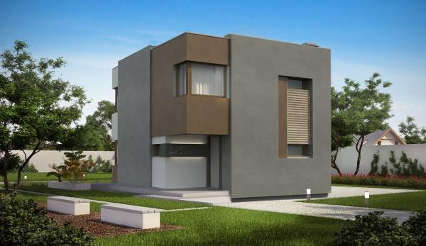 Дом в стиле кубизм