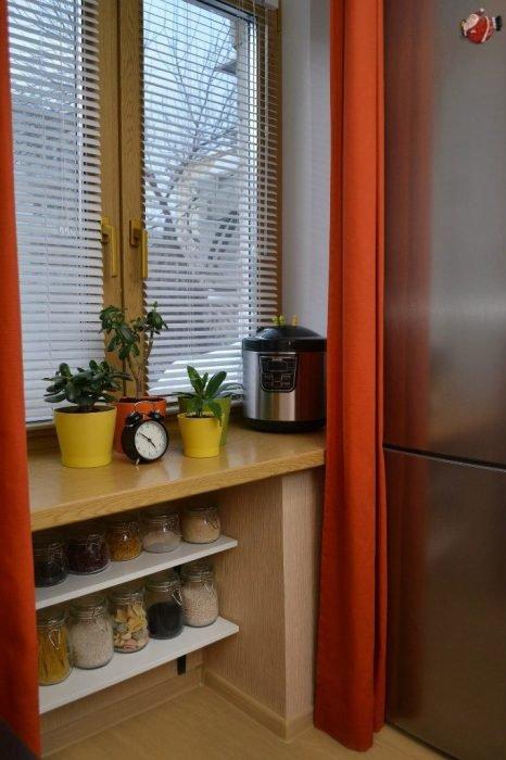 Зимний холодильник
