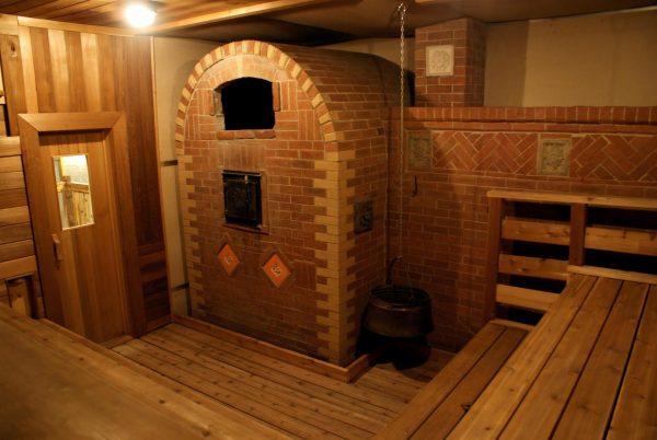 оформление печей в бане