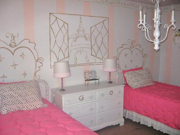 Комната в стиле Париж