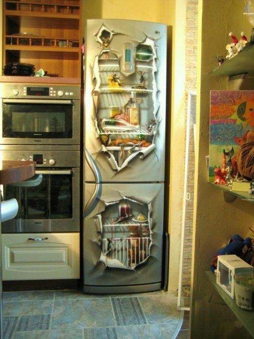 Изображения на холодильнике