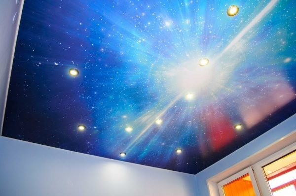 Потолок «звёздное небо»