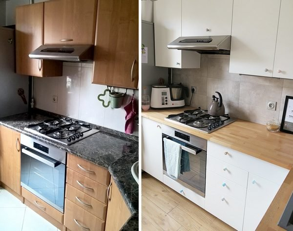 как обновить убитую кухню при маленьком бюджете