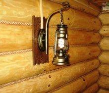 Светильники для бани своими руками Строительный портал 78