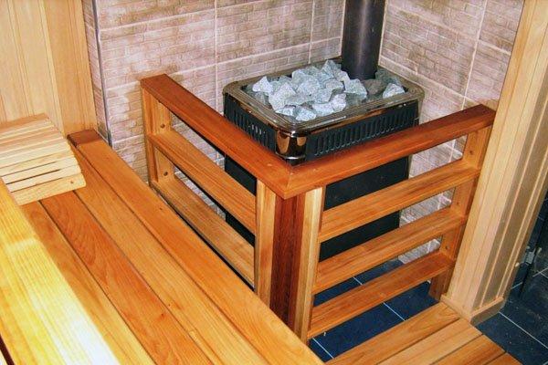 Как правильно установить печку в бане