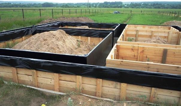 Строительство прочного и недорого мелкозаглубленного фундамента для бани
