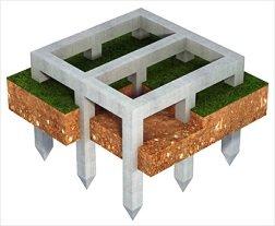 Свайный фундамент своими руками: все про выбор свай + общие положения и нюансы при строительстве