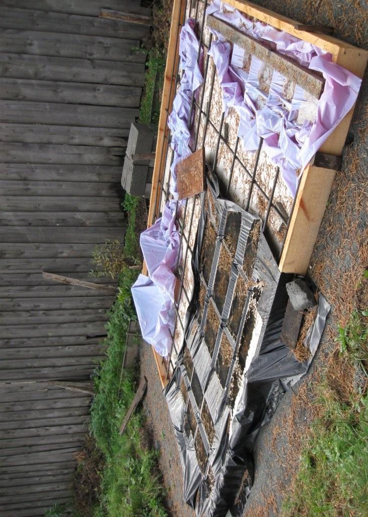 Арматурная сетка служит для усиления бетонной плиты