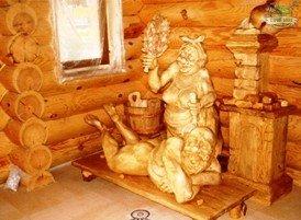 Интерьер внутри настоящей русской бани или как поселить в своей бане «русский дух»?
