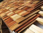 Деревянные конструкции кровли – дранка, лемех, гонт