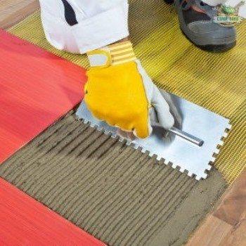 Укладка плитки на деревянный пол: технология правильной подготовки основания и специфика работ