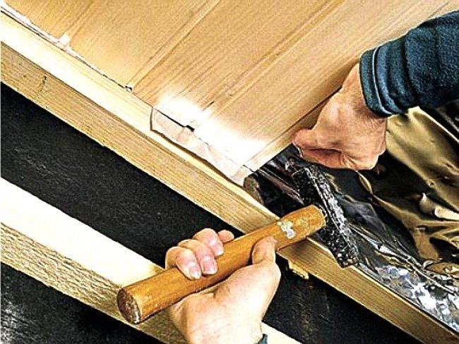 Самый важный этап в постройке бани отделка парилки