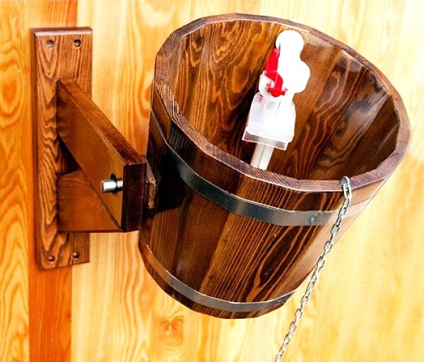 Как сделать деревянное ведро для бани – обливное устройство своими руками