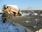 Заливка бетона при отрицательных температурах: зимнее бетонирование