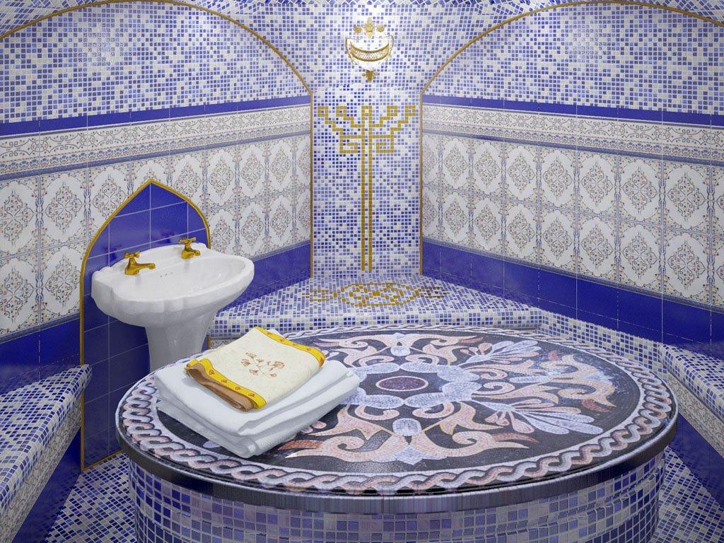 Из чего лучше сделать тёплый пол в хамаме?