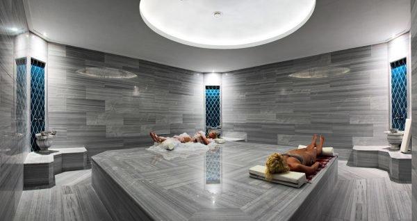 Интерьер бани в стиле хай-тек