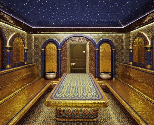 Отделка хамама в восточном стиле