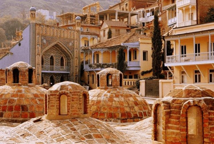 Сероводородные бани в тбилиси