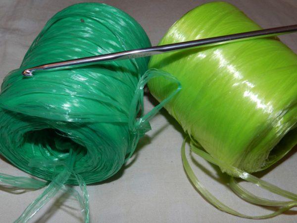 Материалы для вязания мочалок