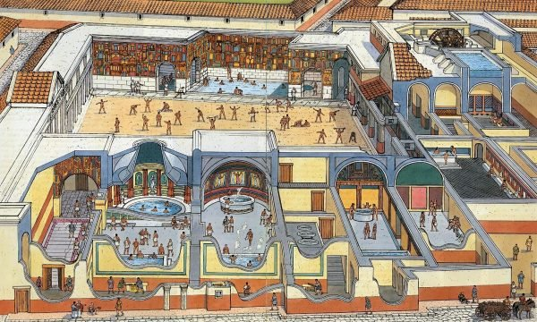 Бани-термы древних римлян