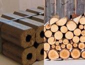 Топливные брикеты или дрова — что лучше для бани