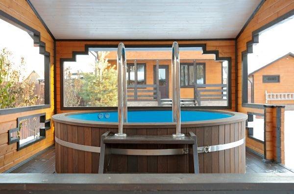 Дизайн помещения для купели